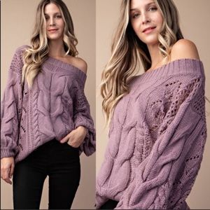 Sweaters - Loose Knit Sweater